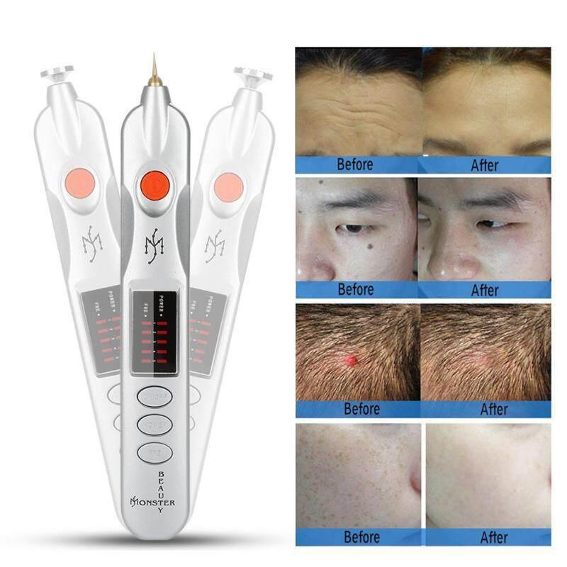 Brushes & Beauty Tools - Professional Plug-in Electric Magic Pen Freckle Wrinkle Mole Tatto Removal Pen - [EU PLUG / US PLUG]