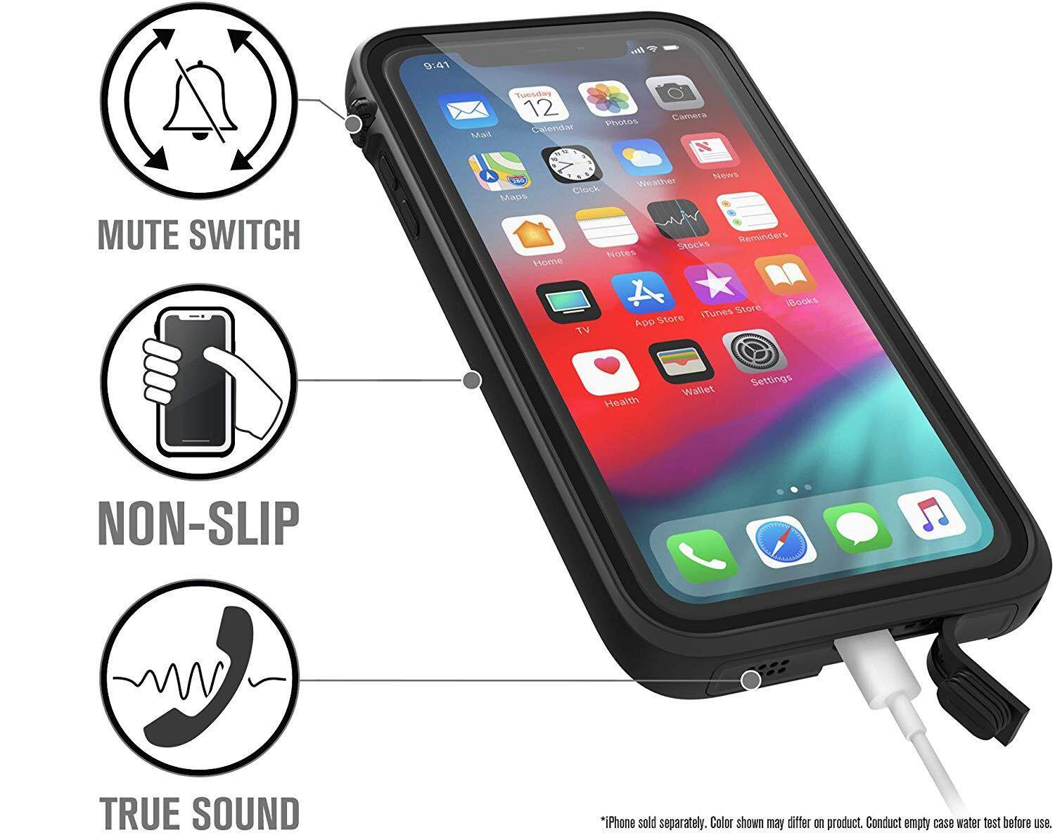 outlet store 8395b 7a1a8 Original Catalyst Waterproof Case-iPhone Xs Max Stealth Black