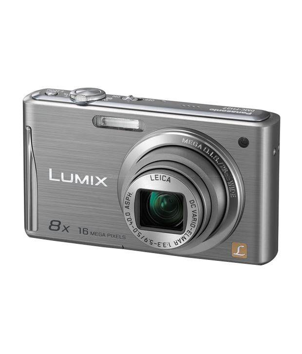 Panasonic Lumix DMC-FH25 16.1MP Point and Shoot Digital Camera (Silver) with 8x Optical Zoom