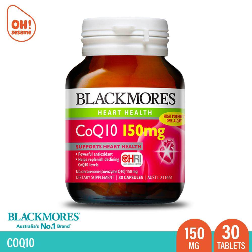 Blackmores CoQ10 150mg 30 Tablets
