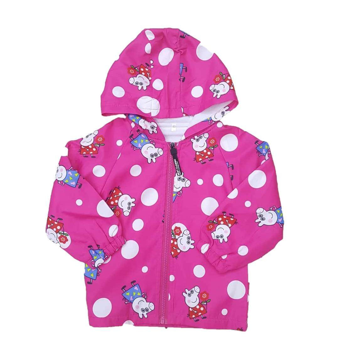 Kids Girl Peppa Pig Jacket