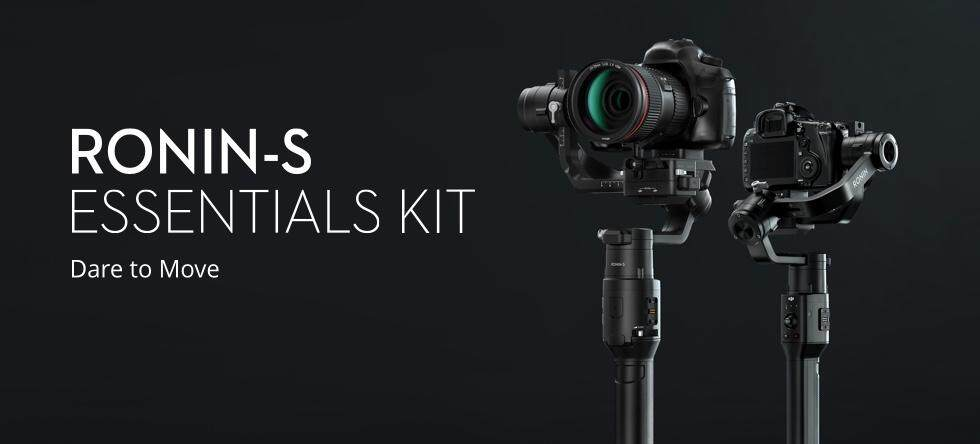(READY STOCK) Dji Ronin-S Essentials Kit for DSLR and Mirrorless Cameras