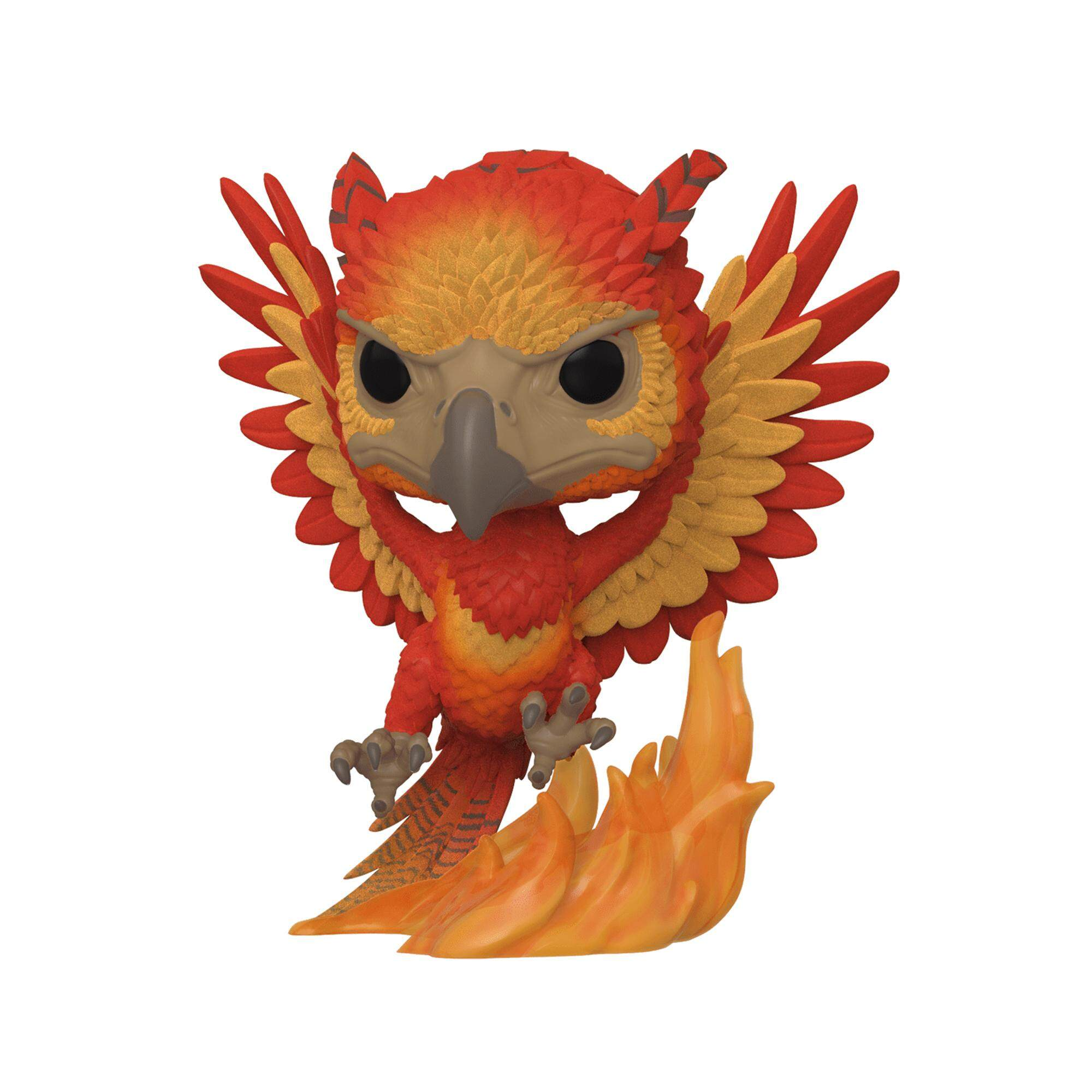 Funko Pop! Harry Potter: Fawkes (Floked) [Sdcc 2019]