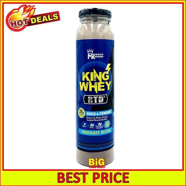 Muscle Kingdom King Whey Protein Shake Ready To Drink 48g