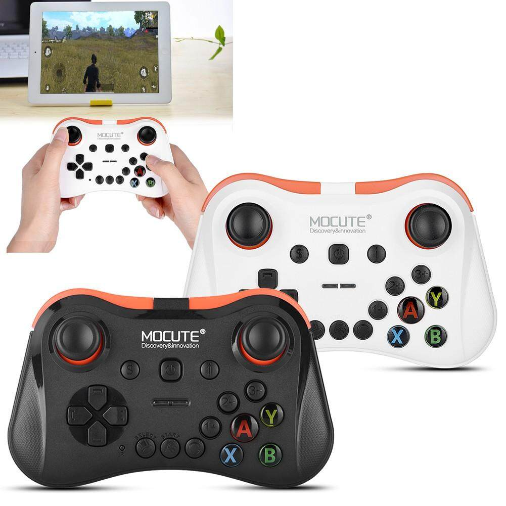 Advanced Controllers - Fast Response Bluetooth Game Controller No Delay Comfortable Grasp Camepad - [WHITE / BLACK]