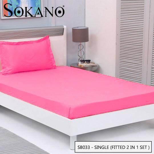 SOKANO SB Series Premium Fitted Bedsheet Set Cadar Tilam