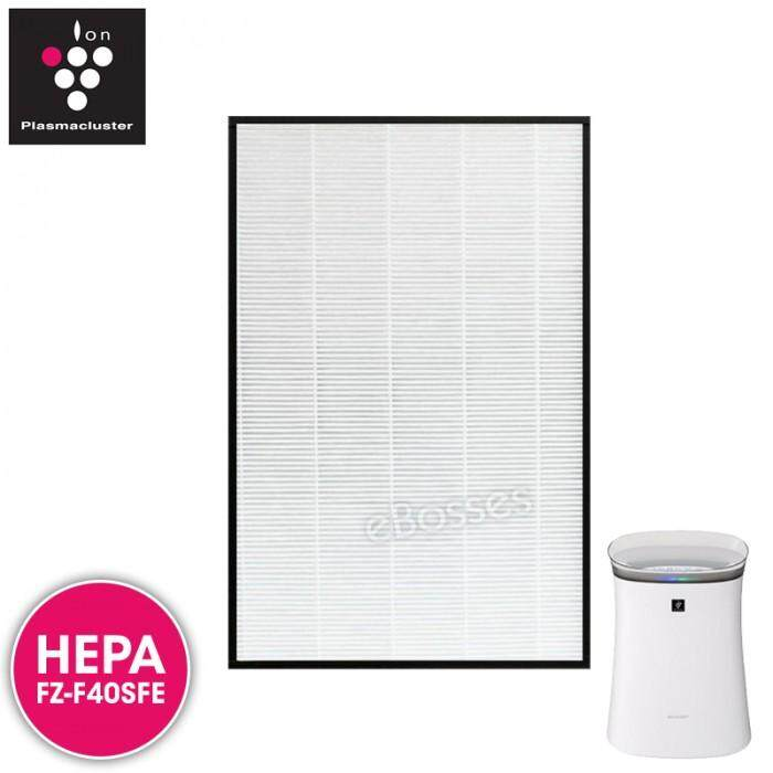 Airpro for Sharp FZ-F40SFE Replacement Air Purifier HEPA Filter for FP-F40L, FP-FM40, FZ-40STS