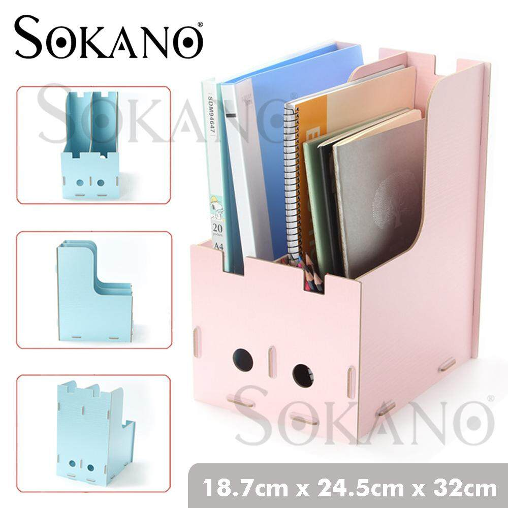 SOKANO 1007 Premium DIY Wooden File Organizer Storage Organizer Table Desk Organizer