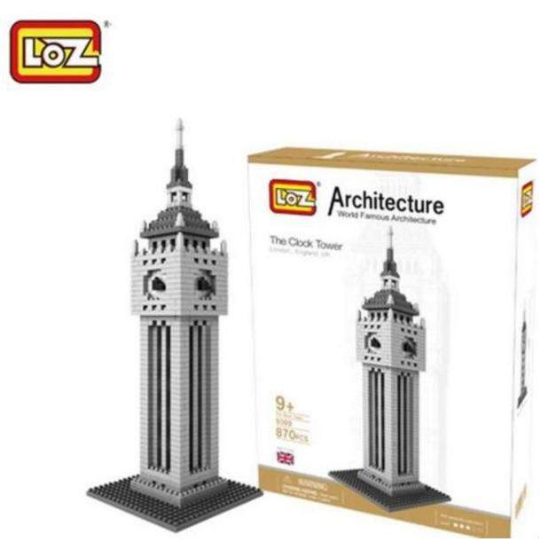 Architecture/Building Series: London Big Ben Tower Loz Nano/Diamond Block [Nanoblock Compatible]