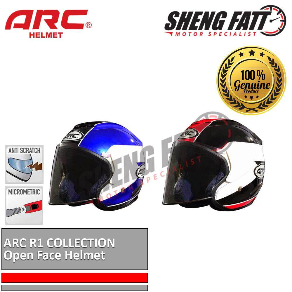 ARC R1 HELMET Open Face Helmet Motorcycle [ORIGINAL]