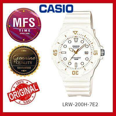 2 YEARS WARRANTY) CASIO ORIGINAL LRW-200H SERIES STUDENT & KID'S WATCH