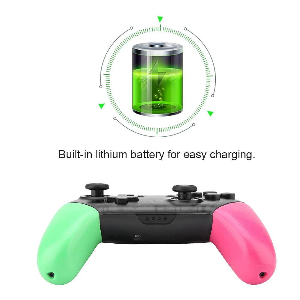 Advanced Controllers - Wireless Bluetooth Gamepad Game Controller Game Controller - [RED / GREEN+PINK]