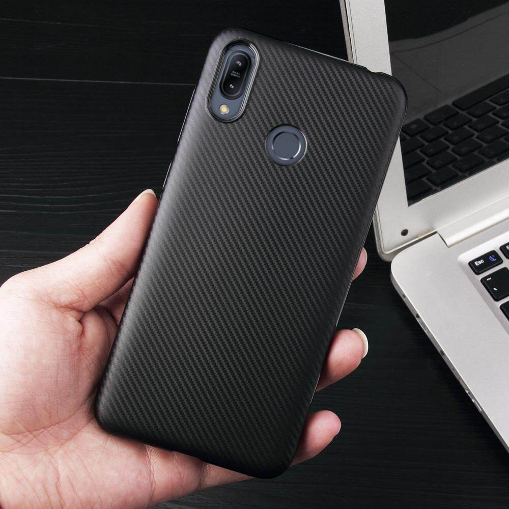 Detail Gambar For Asus Zenfone Max M2 ZB633KL Case Carbon Fiber Shockproof TPU Back Cover Case Terbaru