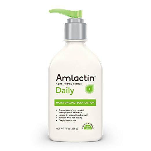 AmLactin Alpha-Hydroxy Therapy Moisturizing Body Lotion for Dry Skin, Fragrance-Free, 7.9oz