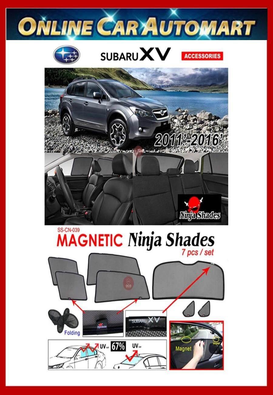 Subaru XV 2013-2017 Magnetic Ninja Sun Shade sunshade (7PCS)