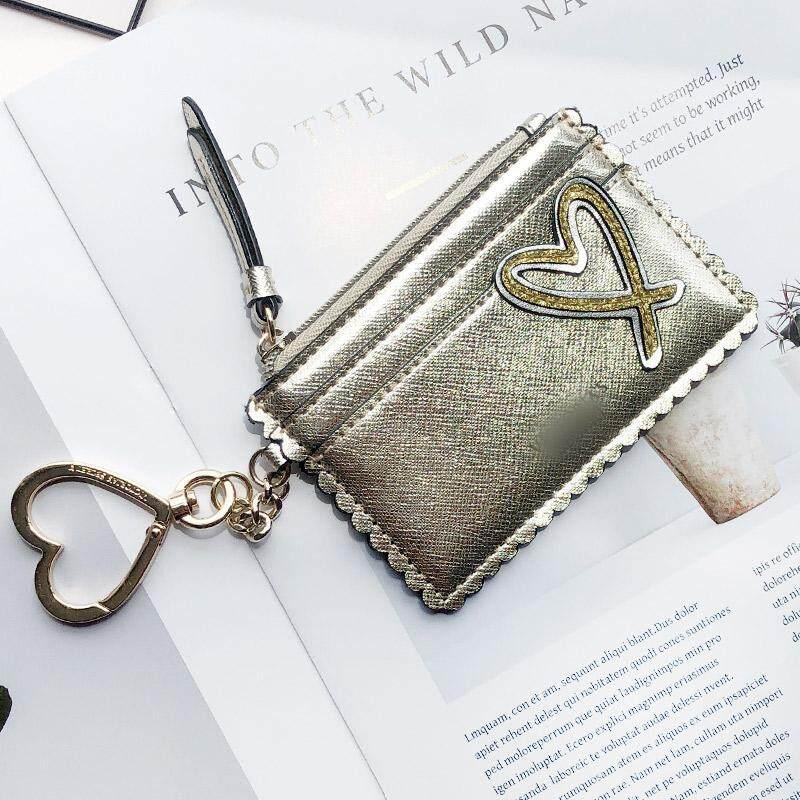 Victoria's Secret Heart Stud Card Holder Case / Keychain