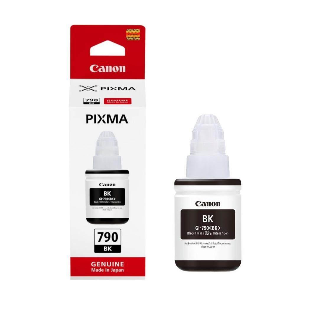 Canon Original GI-790 Black Ink Supply Refill Bottle 135ml for Pixma G1000 G1010 G2000 G2002 G2010 G2012 G3000 G3010 G3012 G4000 G4010