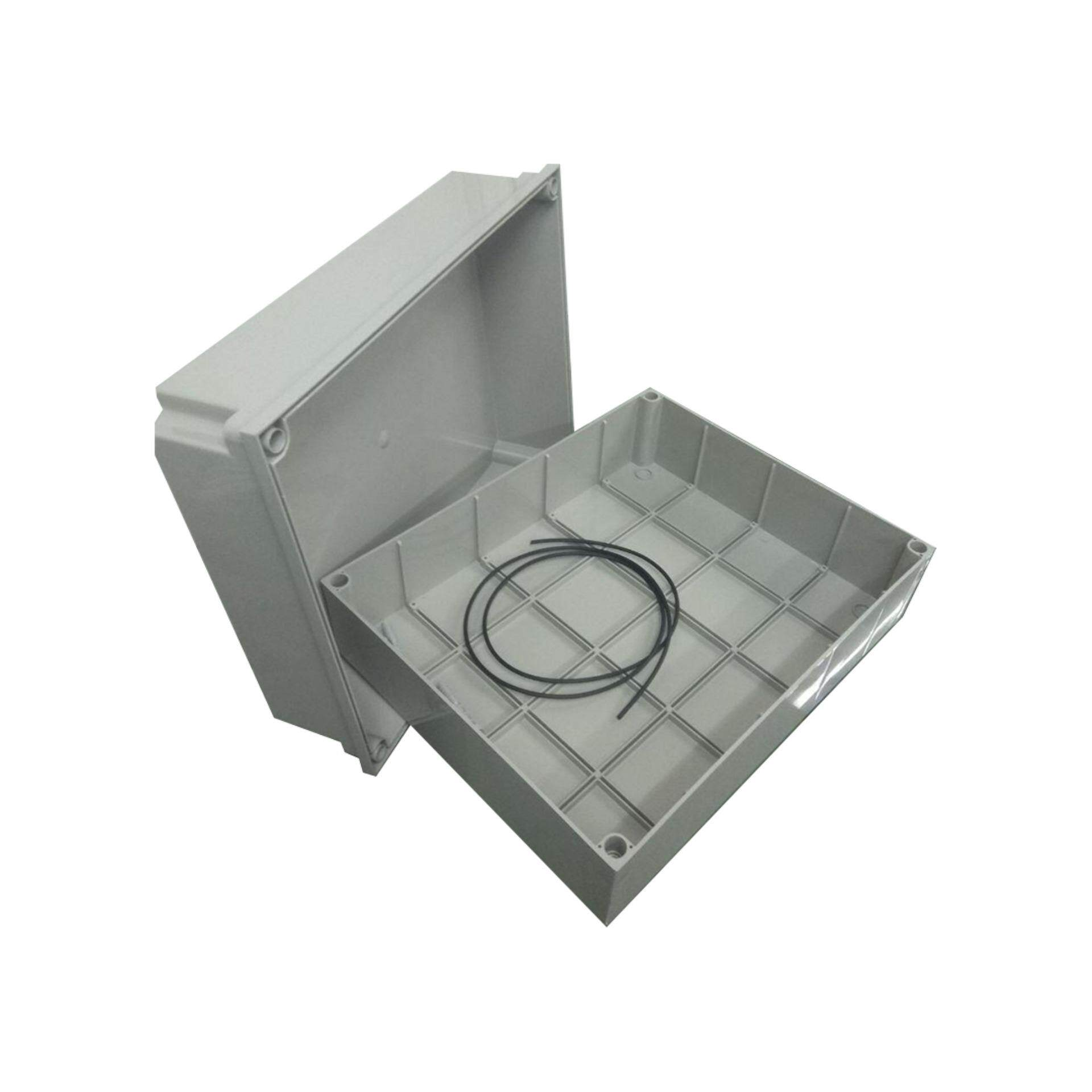 LittleThingy 12 Inches x 15 Inches (300 mm x 380 mm x 178 mm) Waterproof PVC Electric / Weatherproof Electronic Project Enclosure Junction Box / Case