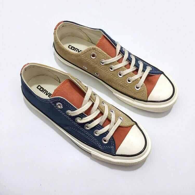 ยี่ห้อไหนดี  ศรีสะเกษ Converse Chuck Taylor All Star 1970 S รองเท้าสเก็ต espadrille Flats