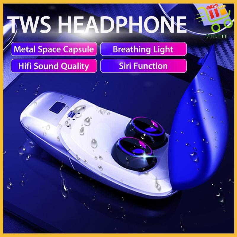 BLUETOOTH 5.0 Sport Earbuds True WIRELESS TWS Stereo Earphon...