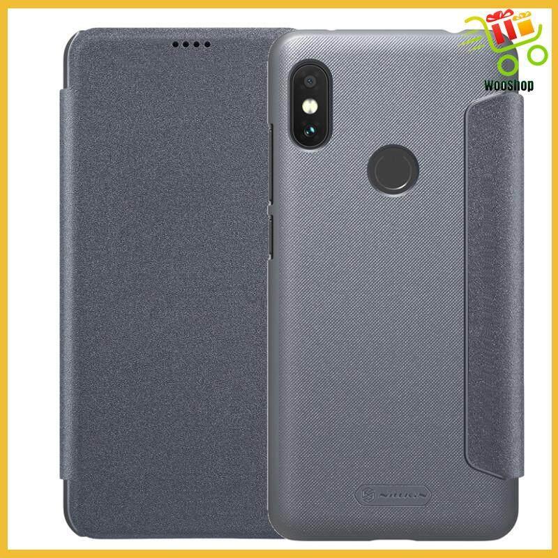 a6ba2957ed NILLKIN Sparkle Flip Smart Sleep Protective Case For Xiaomi Redmi Note 6  Pro - GOLD / ROSE / GREY
