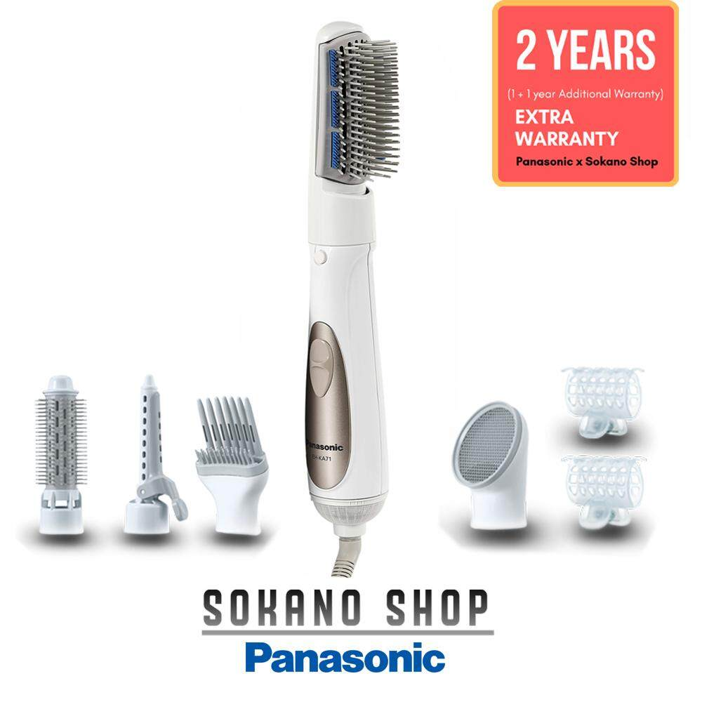 Panasonic EH-KA71-w Hair Styler with 5 Attachments