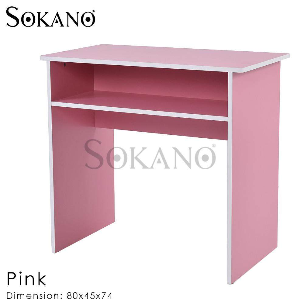 SOKANO SU322 Premium Colorful Wooden Kids Study Table