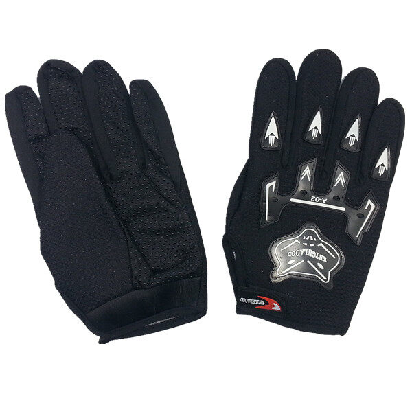 AFGY FGB 082 Cycling Full Finger Gloves Motorcycle Racing Outdoor Sports - Black