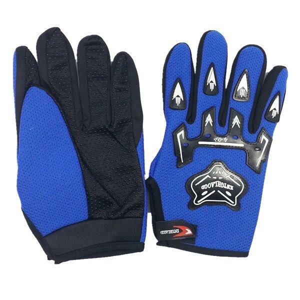 AFGY FGB 082 Cycling Full Finger Gloves Motorcycle Racing Outdoor Sports - Blue