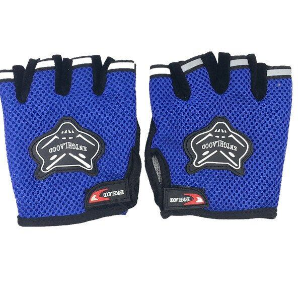 AFGY FGB 083 Cycling Half Finger Gloves Motorcycle Racing Outdoor Sports - Blue