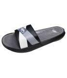 AMBROS Tempa Slider Sandals - BLACK / GREY