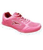 Amsdex Meshee Ladies Jogger - Pink/White