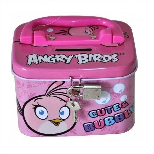 Angry Birds Coin Bank - Pink Colour