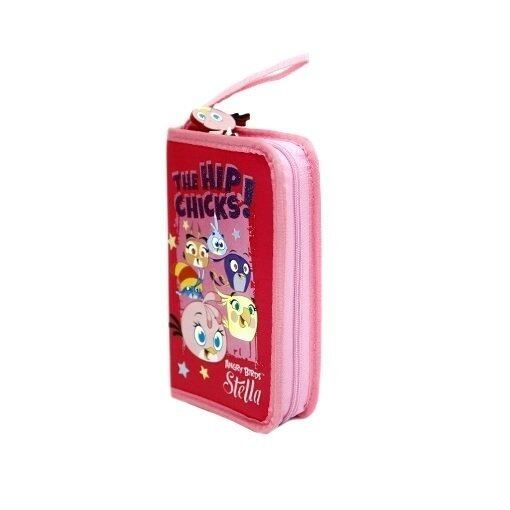 Angry Birds Stella 3 Folded Organiser Set - Pink Colour