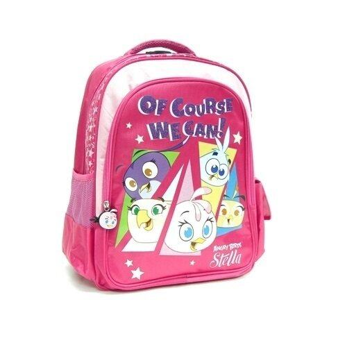 "Angry Birds Stella Backpack 16"" - Pink Colour"