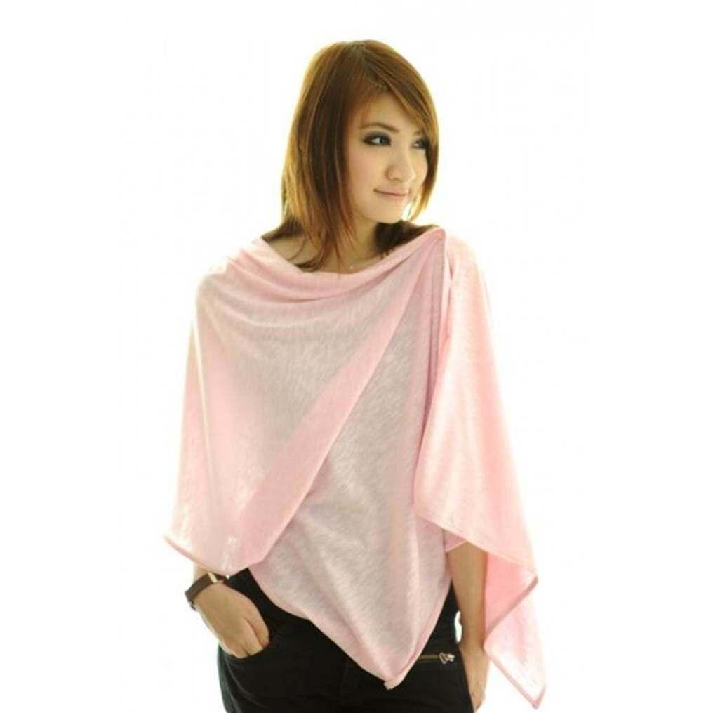 Autumnz Nursing Poncho - Pink