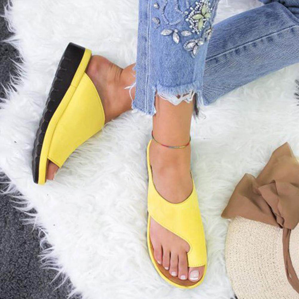 best service los angeles incredible prices RainRainbow Women Comfy Platform Sandal Shoes, Leather Wedge Mules ...