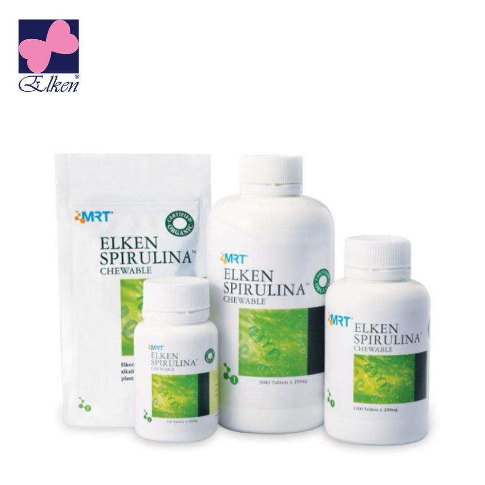 Elken Spirulina 500 Tablets - HES0500 (Genuine + Ready Stock) - HES0500