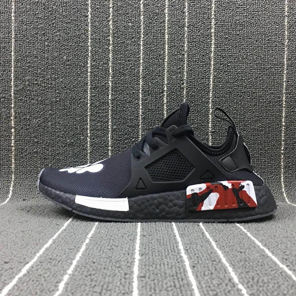 ยี่ห้อนี้ดีไหม  ระนอง ใหม่รองเท้า Adidas XX KAWS X Adidas NMD XR1 ผู้ชายรองเท้าวิ่ง
