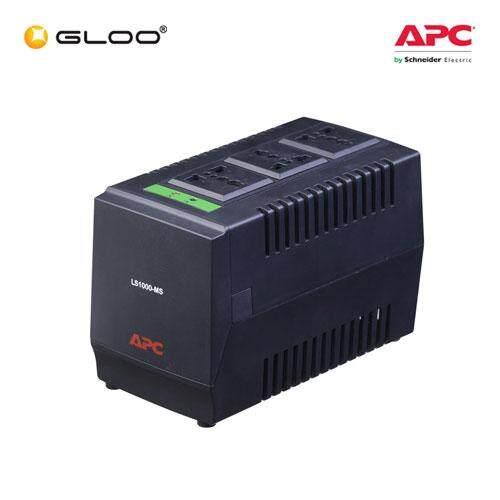 APC Line-R 1000VA Automatic Voltage Regulator LS1000-MS - Black