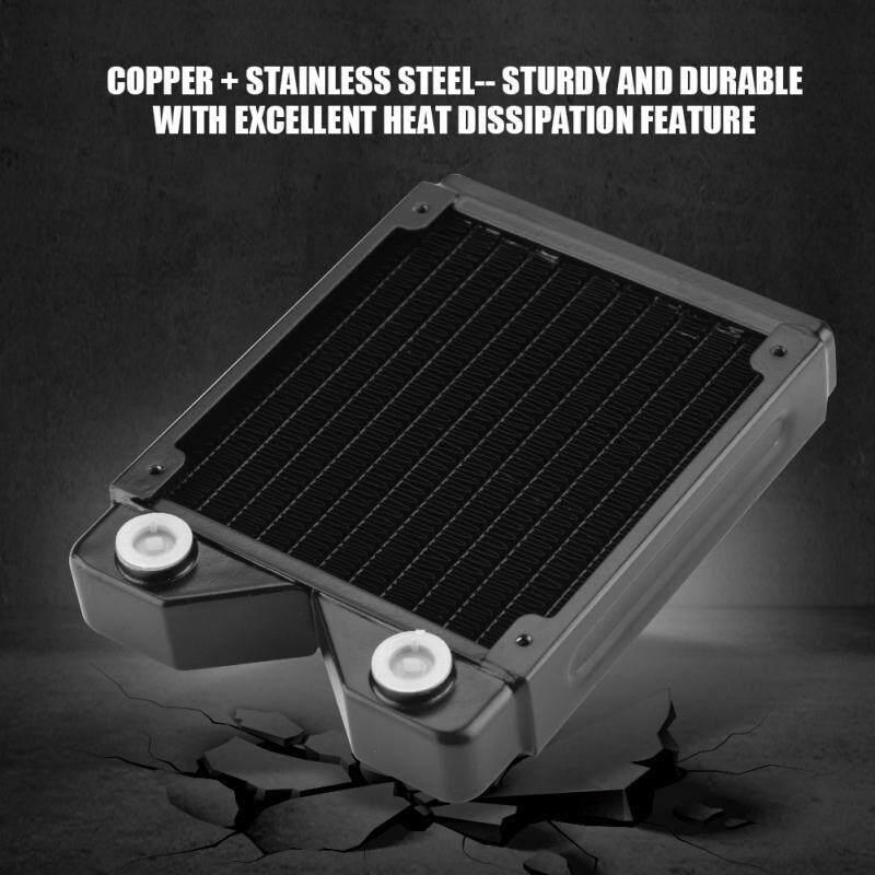 Ink - G1/4 Copper Water Heat Radiator Exchanger Water Cooling Computer Heat Sink - [(120 / -240]