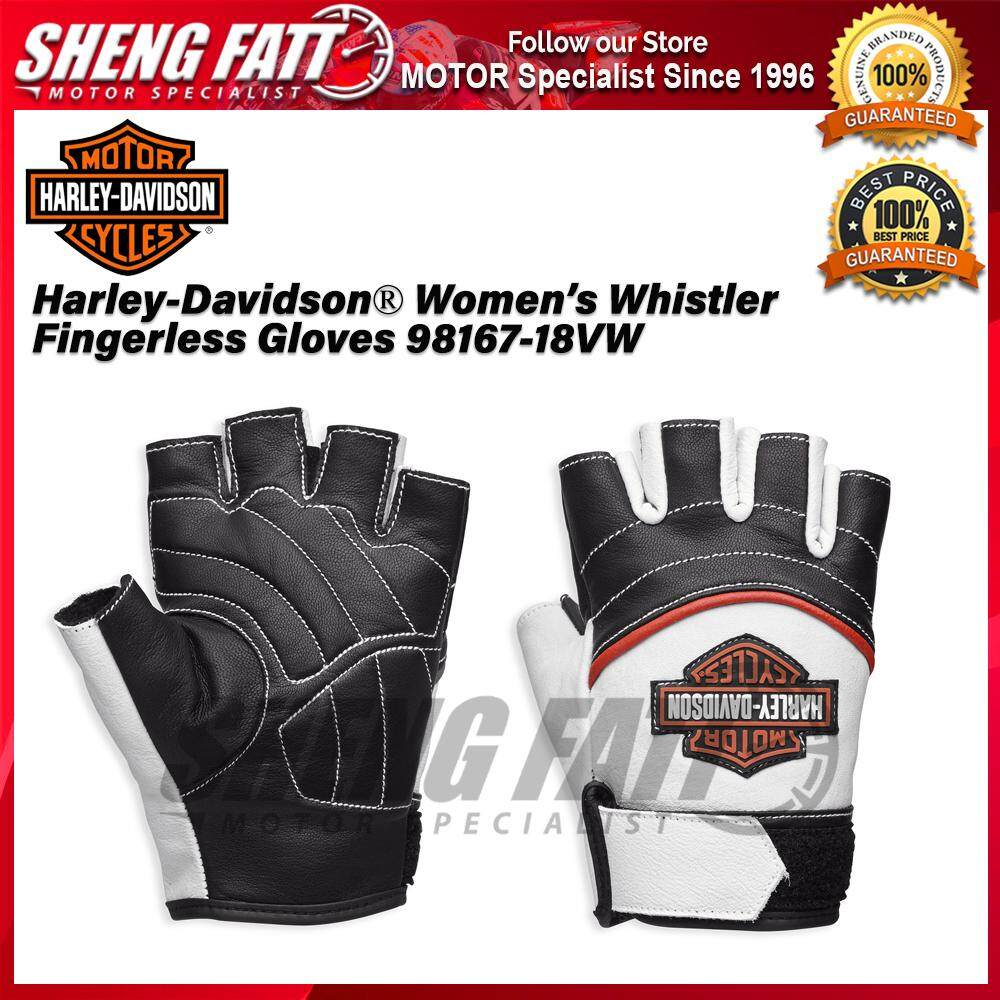 Harley-Davidson® Women's Whistler Fingerless Gloves 98167-18VW - [ORIGINAL]