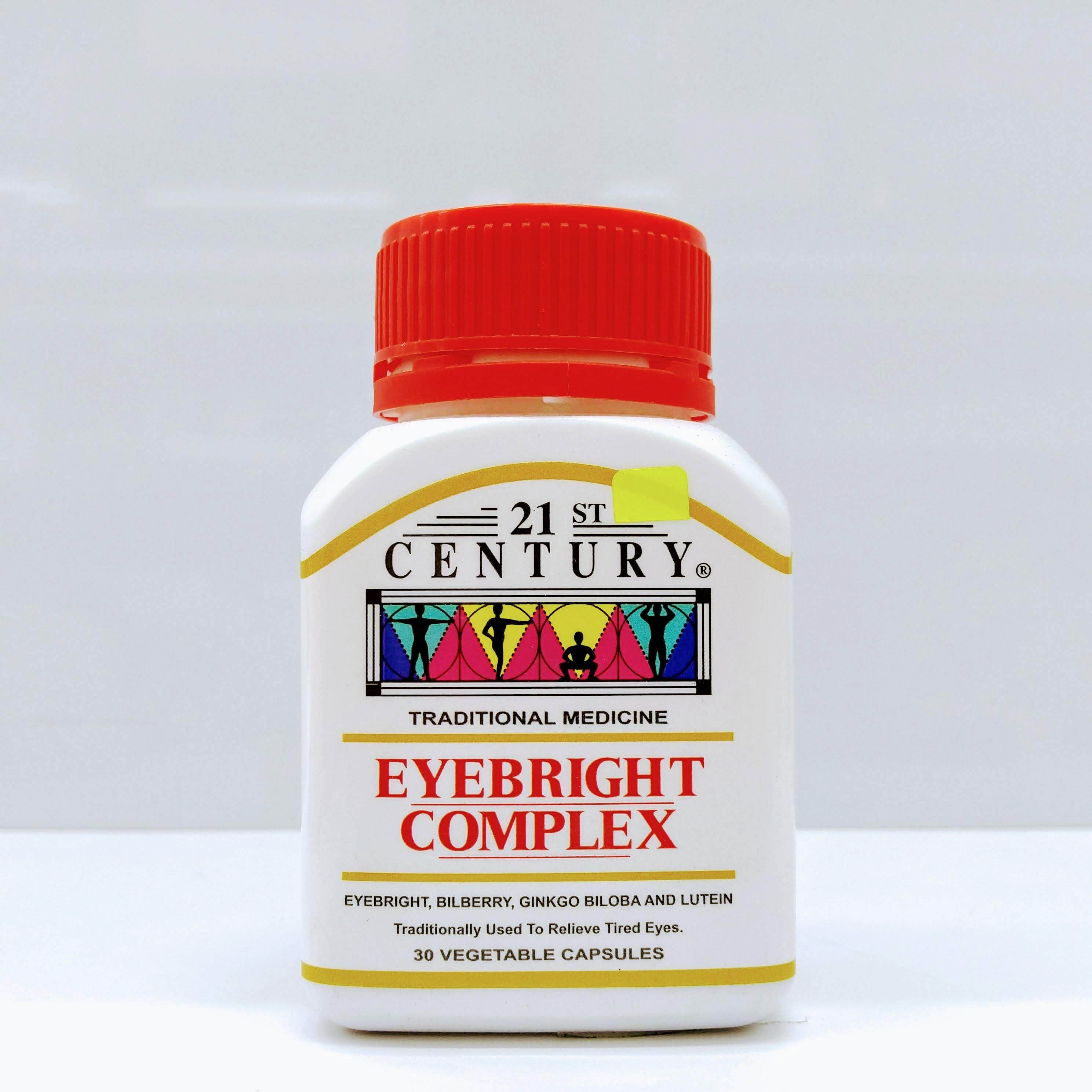 21st Century Eyebright Complex [Relieve Tired Eyes] Capsule 30's exp20.01