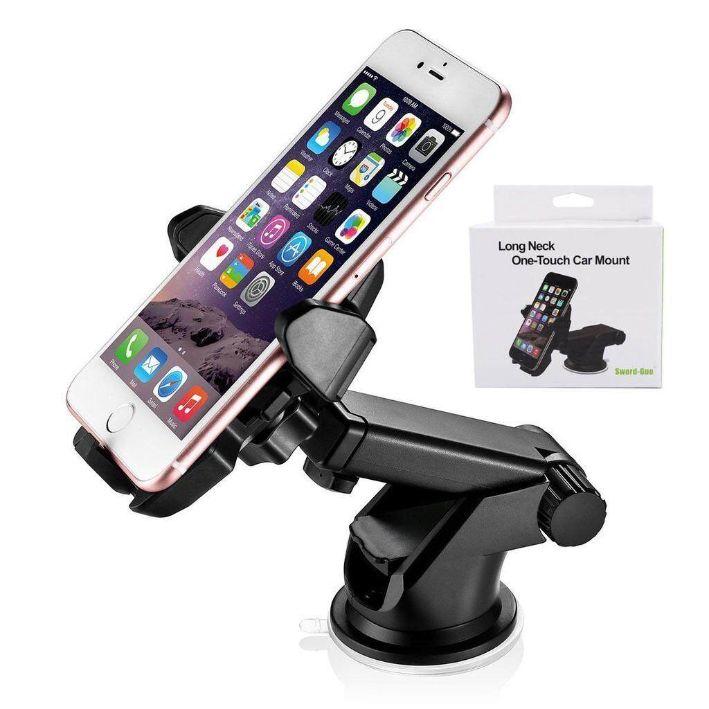iMount JHD-31HD71 Long Extendable Neck with One-touch Car Mount Metal Frame Chassis for Phone