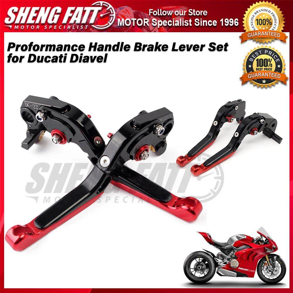 Proformance Adjustable Folding Extendable Brake Clutch Levers for Ducati Diavel