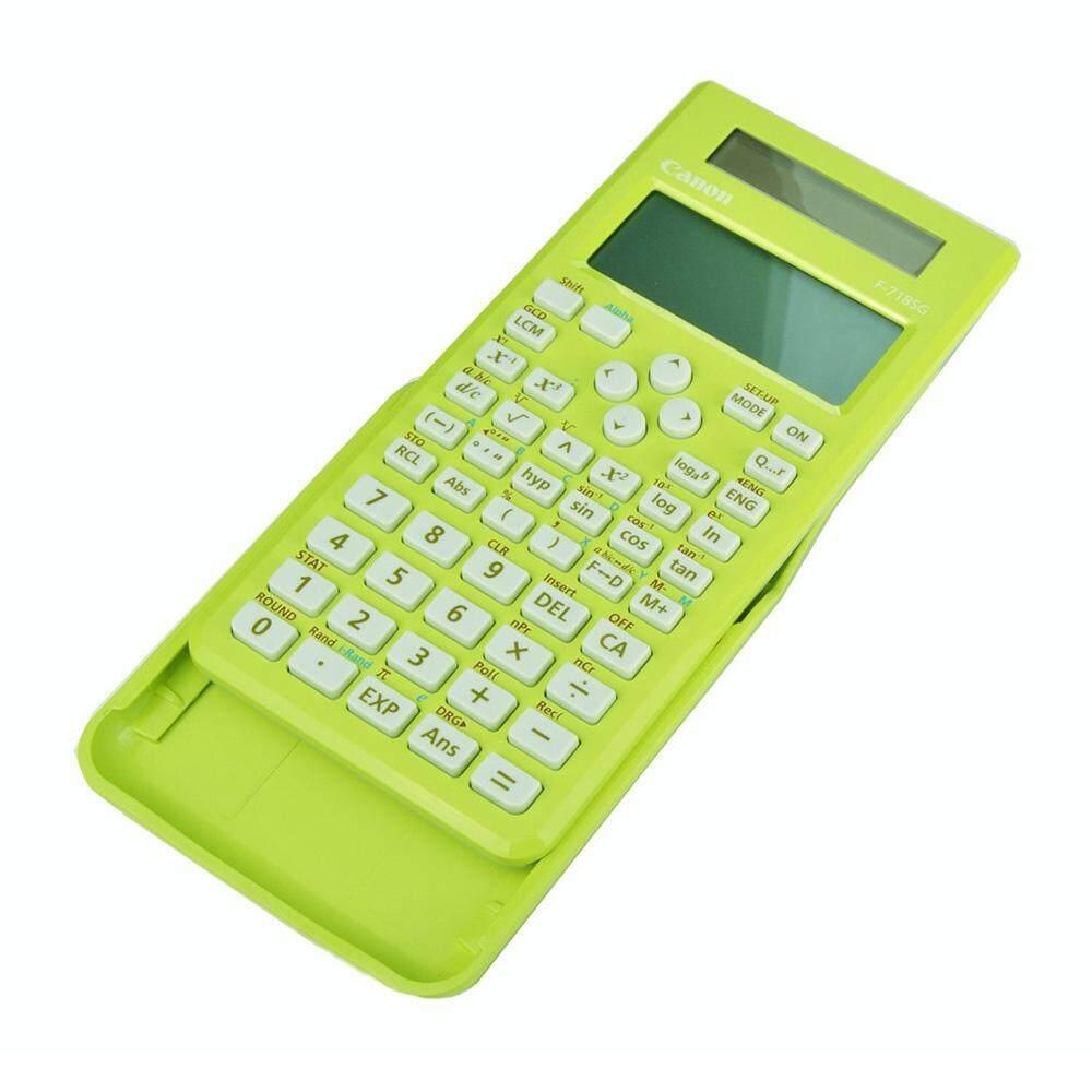 Canon F-718SG-GR Scientific Calculator (Green)