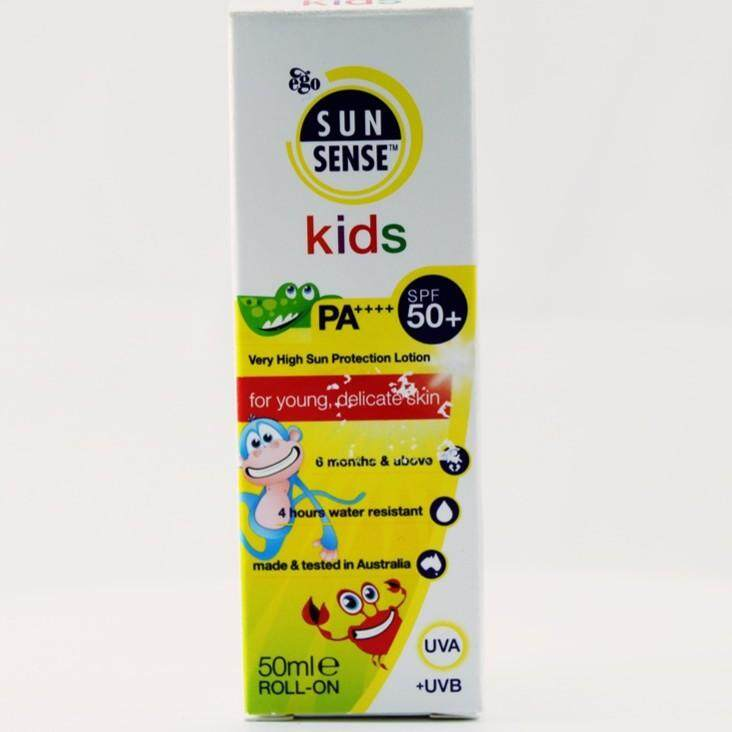 EGO SUNSENSE KIDS SPF 50 PA++++ 50ML ROLL ON