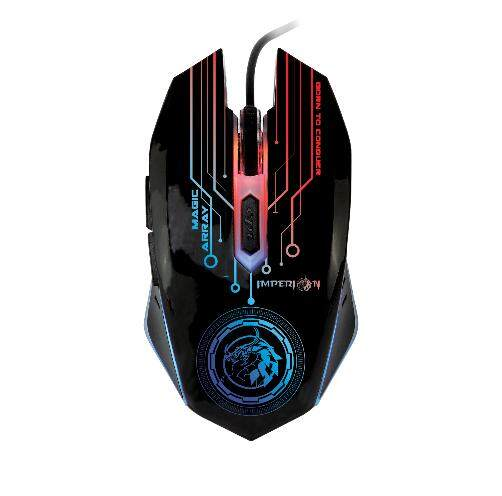 Imperion Magic Array Gaming Optical Mouse 1600DPI 7 Color Illuminating Backlight