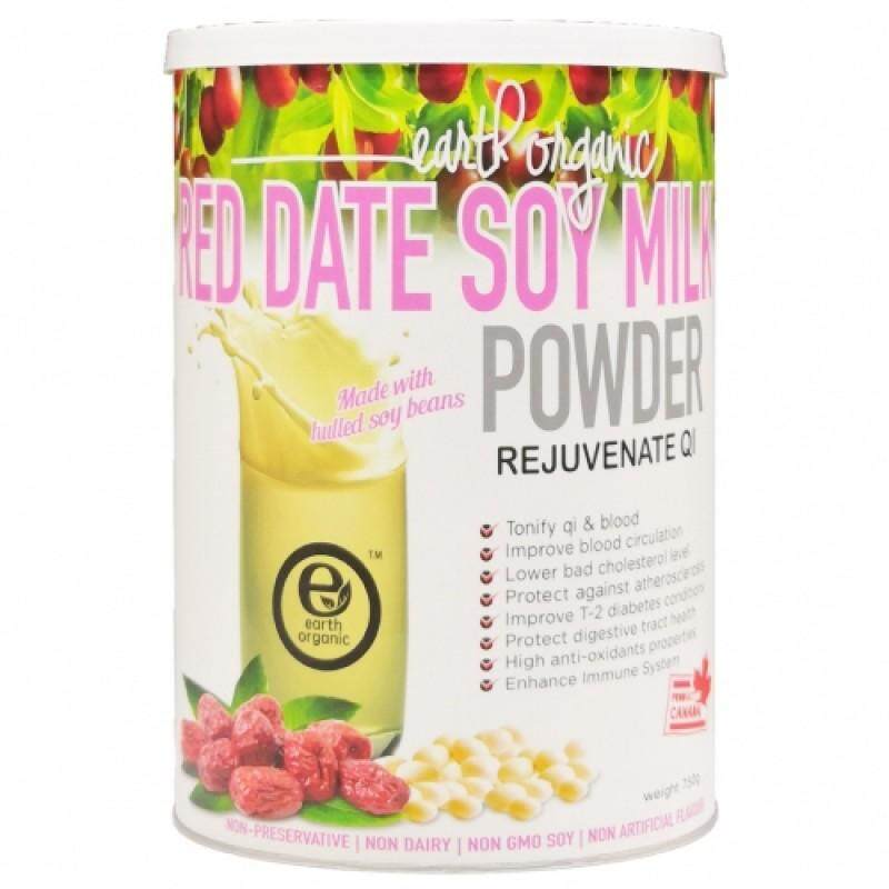 Earth Living  Soy Milk Powder (Red Dates)750g