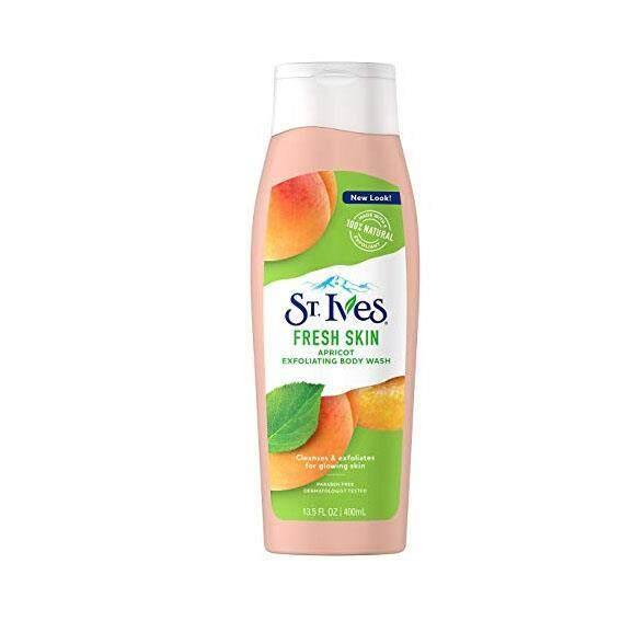 St Ives Fresh Skin Apricot Exfoliating Body Wash 400ml